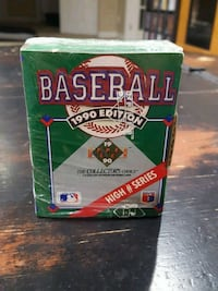Sealed Upper deck 1990 baseball high # series Richmond Hill, L4S 1R3