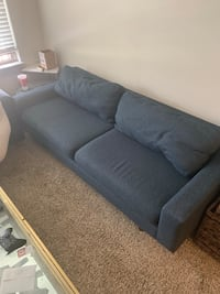 Navy Couch Dallas, 75206