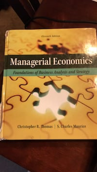 Managerial  Economics textbook.  Good shape.