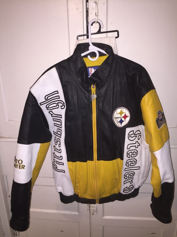 de8b7e73e Used Steelers Leather Jacket for sale in Rochester - letgo