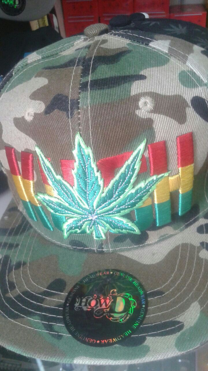 woodland camouflage fitted cap