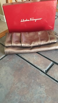 brown leather 3-seat sofa Matthews, 28105