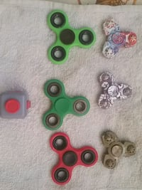 six assorted color fidget spinners Toronto, M3H 3P6