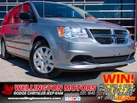 2016 Dodge Grand Caravan Canada Value Package / LOOK AT THE KM'S !! Guelph