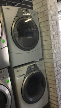 white front-load washer and dryer set Toronto, M6H