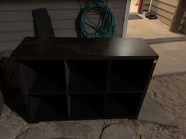 Coffee table and Cubby Storage