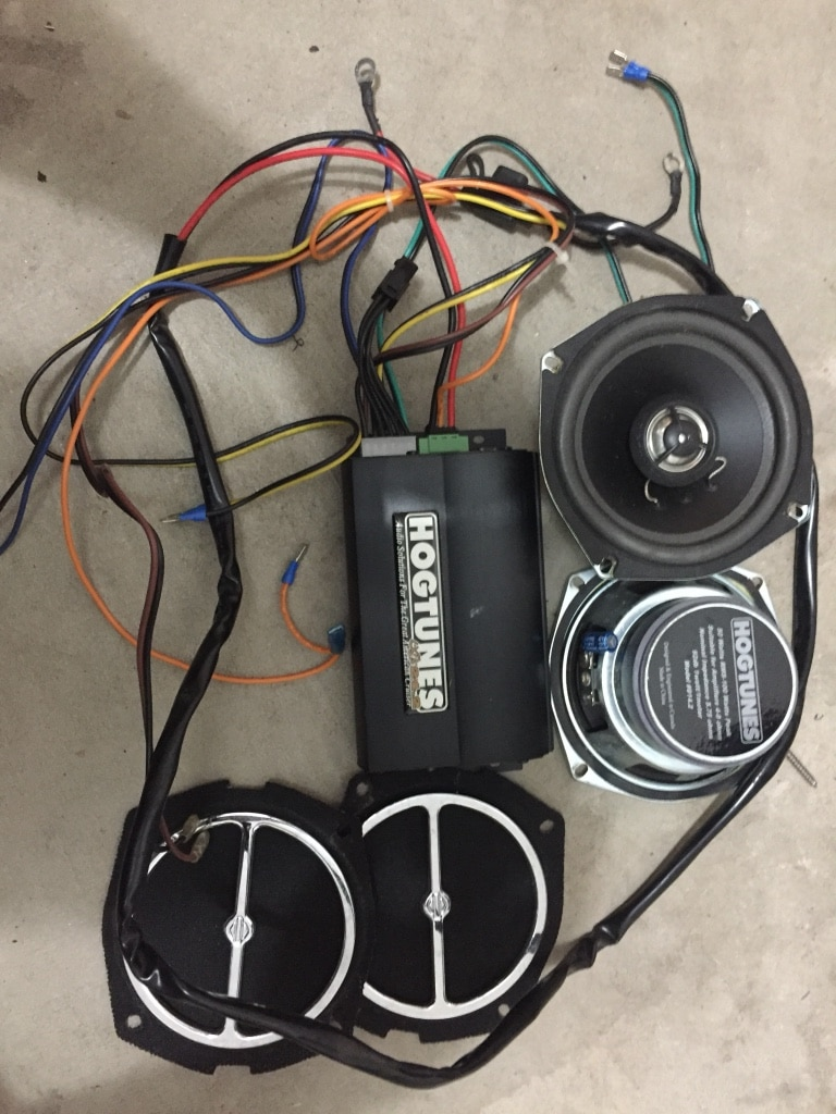 Hogtunes 70 2 Amp Wiresamp Wire Diagrams Wiring Diagram Used Hd 24 Speakers And Compete For Sale In