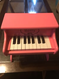 red and white Berry piano toy set
