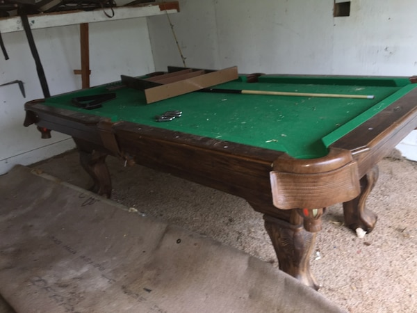Used Ft By Ft Slate Top Mini Pool Table For Sale In Newcastle - Used mini pool table