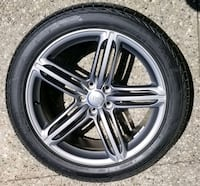 20 inch Audi OEM rims with Performanc tires Hamilton, L8N 2Z7