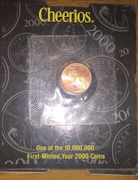 Cheerios one of the 10000000 first minter year 2000 coins Torrington, 06790