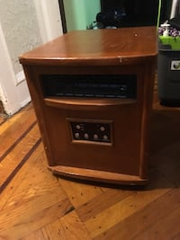 Black and brown home appliance