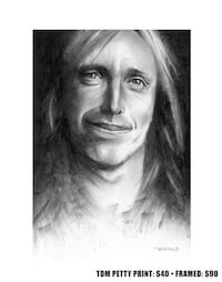Tom Petty drawing  Beaumont, T4X 1C6