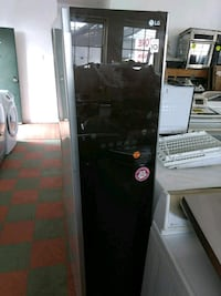 black and gray single-door refrigerator Santa Ana