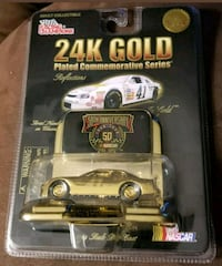 Steve Grissom #41 24K Gold Plated Racing Champions Mansfield, 76063