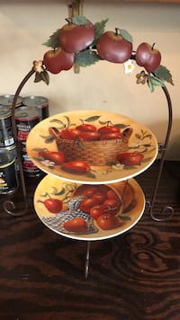 Decorative Plate Stand - Apples.