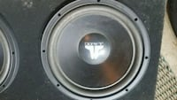 "JL Audio 12"" Subwoofers - Two Subs, Custom Box Washington, 20007"