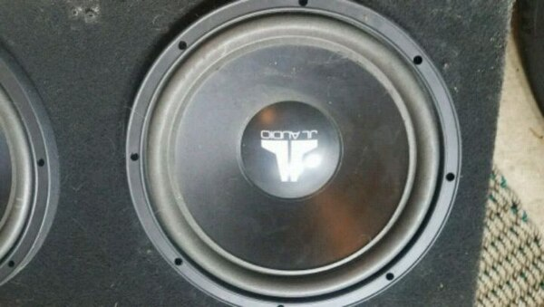 "JL Audio 12"" Subwoofers - Two Subs, Custom Box"
