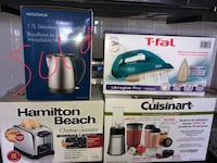 MOVING SALE: Hamilton Beach Toaster, Cuisinart Countertop blender, and t-fal ultraglide pro iron Kitchener, N2M 3X8