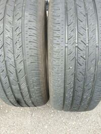 Two Used continental tires. Profile   Ottawa, K4A 4G1