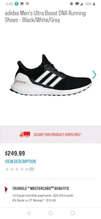 """Adidas Ultraboost 4.0 """"Show Your Stripes"""" Laval, H7N"""