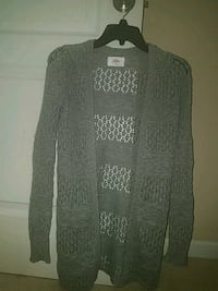 Girl's Grey Sweater. Lightweight. Justice Size 12 Buford, 30518