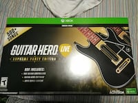 black Guitar Hero Live Xbox One game controller bo Chattanooga, 37343