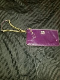 Coach Madison Purple Wristlet w/ Gold Chain Las Vegas, 89108