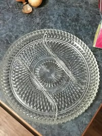 Crystal Serving Tray