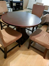 Dining Table dark brown wood Buena Park, 90620