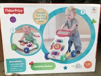 Fisher-Price activity walker box