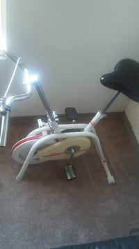 white and red stationary bike WINNIPEG