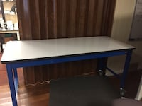 Work bench with industrial laminate top Cambridge, 02140