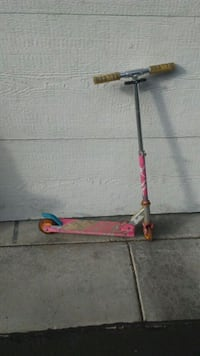 Folding Barbie Scooter