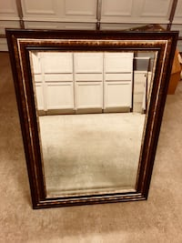 Large hand crafted mirror. Excellent condition! 43x31x1.5 Prairieville, 70769