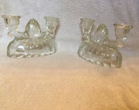 Set of crystal candle holders  Centerville, 15333