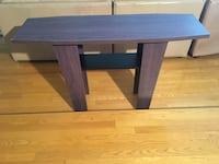 rectangular brown wooden table with drawer Montréal, H4M 2X3