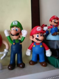 Mario and Luigi toy figures Bell, 90201