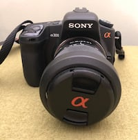 Sony Alpha DSLR-a300 with two lens Toronto, M5C 1M2