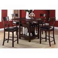 Counter Height Table and 4 High Chair  - Brand New - Free Home Delivery SF bay area Fremont