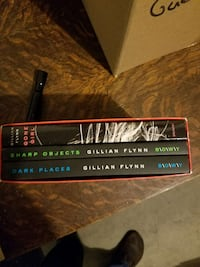 Gillian Flynn books.  Altoona