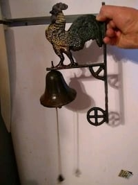 Antique cast iron rooster bell Tucson, 85756