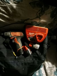 Milwaukee m12 impact drill batteries and charger included