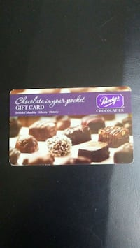 $100.07 Purdys Gift Card For Sale  Toronto, M6L