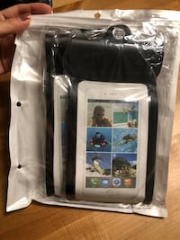 "Brand new!!!  (2 pack) Floating Waterproof Phone Pouch with Armband Universal IPX8 with Double Seal Sensitive TPU Touch Screen for iPhone X, 8,8P,7,7P,6S 6,6S P, Galaxy S8/S8 Plus up to 6.0"" (Black) Hialeah, 33015"