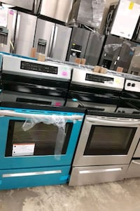 New stainless steel induction frigidaire Electric stove ????????