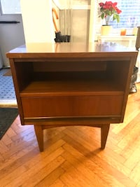 Side table/ end table/ bedside table / mid century