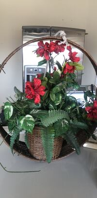 red and green artificial flowers College Station, 77845