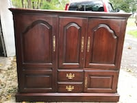 Brown wooden cabinet with drawer Watsontown
