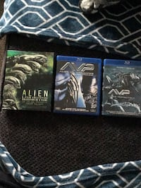 Alien six movie collection in Blu-ray, Avp, requiem Ottawa, K1K 4W3